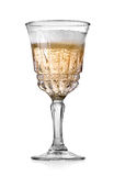 Goblet of champagne Royalty Free Stock Images