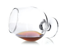Goblet with cognac Royalty Free Stock Photography