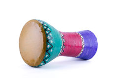 The goblet drum (also chalice drum, tarabuka, darbuka, debuka) Royalty Free Stock Photo
