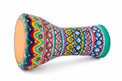 The goblet drum (also chalice drum, tarabuka, darbuka, debuka) Stock Image