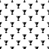 Goblet pattern vector seamless. Repeating for any web design Stock Photography