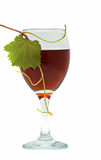 Goblet with red wine Royalty Free Stock Photography