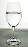Goblet with water Stock Photo