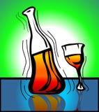 Goblet of wine Stock Photos