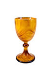 Goblet wooden Royalty Free Stock Photography