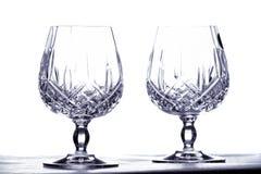 goblets δύο Στοκ Εικόνα