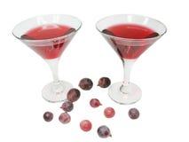 goblets κόκκινο κρασί στοκ εικόνα με δικαίωμα ελεύθερης χρήσης