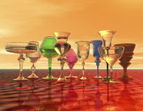 Free Goblets Stock Image - 36688441