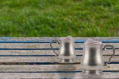 Goblets Στοκ εικόνες με δικαίωμα ελεύθερης χρήσης