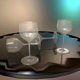 goblets Fotografia de Stock Royalty Free