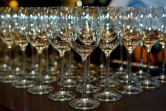 Goblets Royalty Free Stock Images