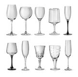 Goblets for champagne Stock Photo