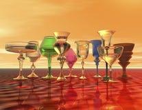 Goblets Stock Image