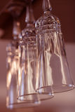 Goblets, Tall wine glasses Stock Photo
