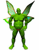 Goblin Fairy Royalty Free Stock Images