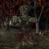 Goblin-Fantasy Figure Royalty Free Stock Photo