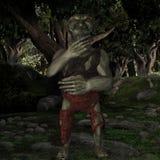 Goblin-Fantasy Figure Stock Photography