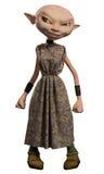 Goblin Servant Girl Royalty Free Stock Images