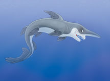 Goblin shark Royalty Free Stock Image