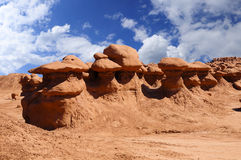 Goblin Valley Royalty Free Stock Photos