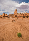 Goblin valley. Rock formation in goblin valley national park Royalty Free Stock Photography