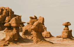 Goblin valley Stock Photo