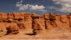 Goblin valley hoodoo in Utah. Goblin Valley State Park is a state park of Utah, USA Stock Photos