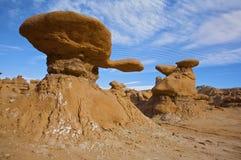 Goblin Valley Rocks Stock Photos