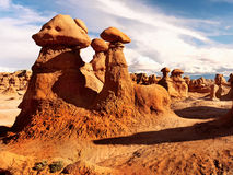 Goblin Valley Rocks, State Park Utah Stock Images
