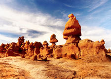 Goblin Valley Rocks, State Park Utah Royalty Free Stock Photo