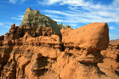 Goblin Valley Sculpture Royalty Free Stock Photos
