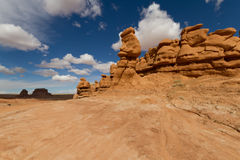 Goblin Valley in the spring Stock Images