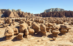 Goblin Valley State Park hoodoos Royalty Free Stock Photo