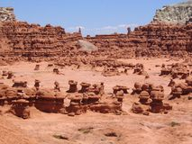 Goblin Valley State Park Royalty Free Stock Images