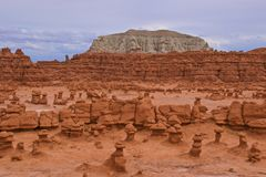 Goblin Valley State Park in  Utah Royalty Free Stock Image
