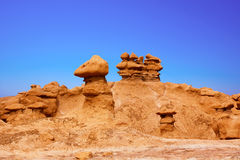 Goblin Valley Royalty Free Stock Photography