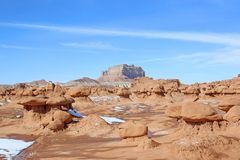 Goblin Valley State Park, Utah, royalty free stock images