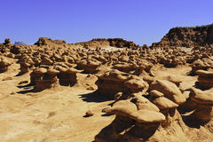 Goblin Valley Utah Royalty Free Stock Photography