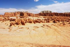 Goblin Valley, Utah Royalty Free Stock Photos