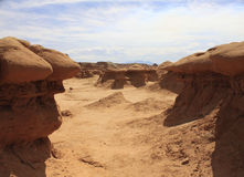 Goblin Valley View Royalty Free Stock Photo