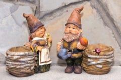Goblins με τα καλάθια Στοκ φωτογραφίες με δικαίωμα ελεύθερης χρήσης