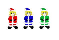 Goblins of christmas Royalty Free Stock Photos