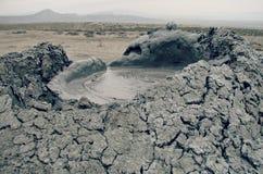 Gobustan Nationaal Park, Azerbeidzjan stock afbeeldingen