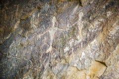 Gobustan nationalpark Arkivfoton