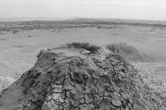 Gobustan Vud volkan Fotografie Stock Libere da Diritti