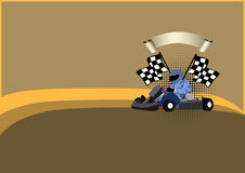 Gocart background Stock Photography