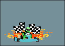 Gocart background Stock Photos