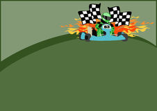 Gocart background Royalty Free Stock Photography