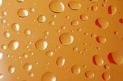 Gocce arancioni illustrazione di stock