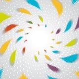 Gocce colorate Immagini Stock Libere da Diritti